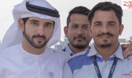 Sheikh Hamdan calls Pakistani abra driver 'best captain'