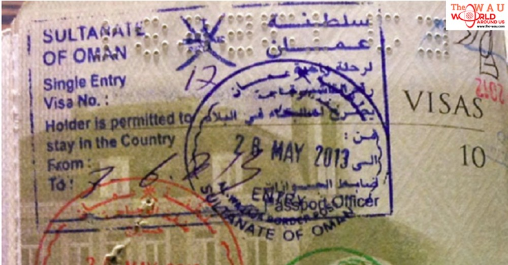 Procedure To Get On Arrival Visa At Oman Mu Airport For Gcc Residents