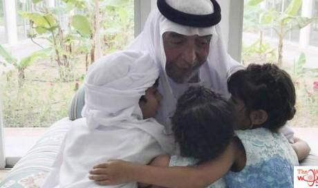 Video: Dubai Crown Prince pays tribute to Sheikh Khalifa as heartwarming picture goes viral