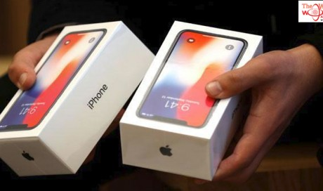 Man caught at Delhi airport with 100 Apple iPhone X handsets