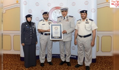 Abu Dhabi Police receives Guinness World Records certificate