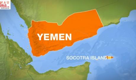 Saudi military says troops arrive in Yemen's Socotra island