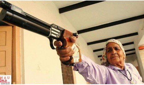 Revolver Dadi: India's 86-year-old sharpshooter