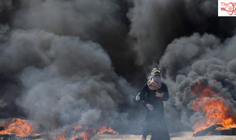 Israeli forces kill two in Gaza as anger mounts over U.S. embassy