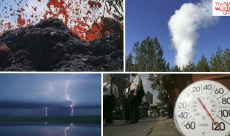 Volcanoes. Geysers. Earthquakes. Mother Earth is doing all kinds of scary stuff in the US right now