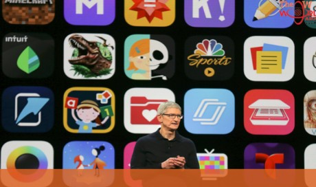 Apple's new phone software speeds up older devices
