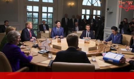 G7 leaders urge Russia to stop undermining democracies
