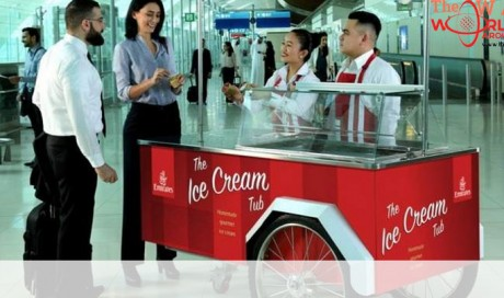 Free ice cream for passengers flying from Dubai airport