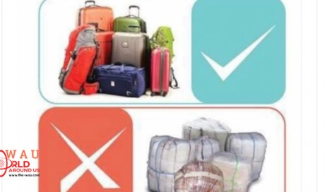 Carton baggage not allowed on Kuwait Airport?