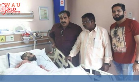 Indian coma patient in Saudi Arabia who has not spoken to his family for 20 years