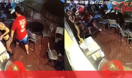 After Man Gropes Waitress At Work She Slams Him Into The Wall In Fitting Response