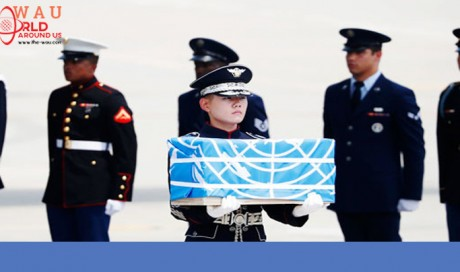 White House says North Korea returns remains of US war dead