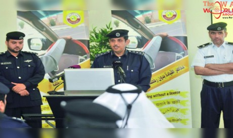 Tourists can  can apply for Qatari temporary driving licence within 15 days of arrival
