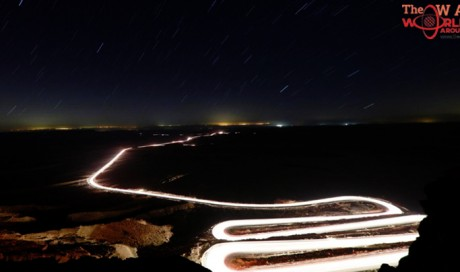 Thousands gather in Israeli desert for meteor shower