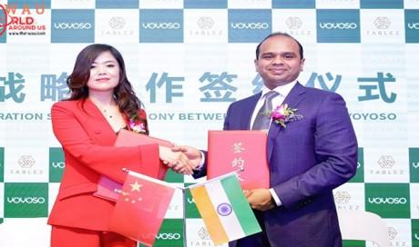 Tablez Inks Strategic Cooperation Agreement With YOYOSO