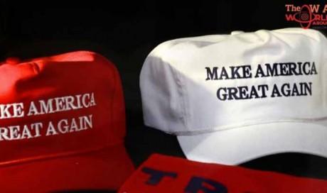 Schoolgirl arrested for throwing Trump hat on ground