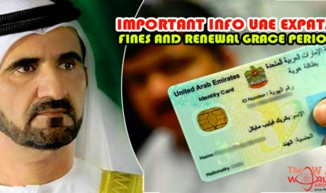 IMPORTANT Info Expats! Emirates ID Expiry Fines and Renewal Grace Period!