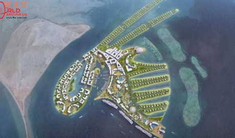 New Island Design for 2022 World Cup in Qatar