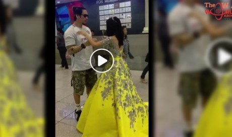 OFW father-daughter heartwarming dance at NAIA goes viral