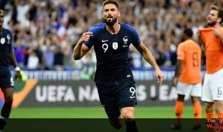France's Giroud ends goal drought with winner over Dutch