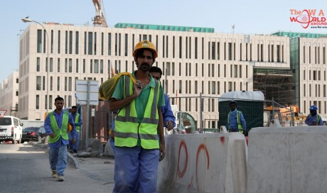 Modern slavery: Qatar workers allowed to leave without exit visas