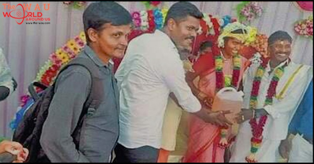 Groom In India Gets 5 Litres Of Petrol As Wedding Gift