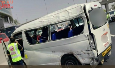 Two People dead and 5 injured in Dubai road accident