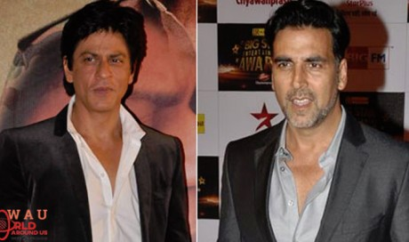 SRK, Akshay, Sushant compete to go to space!