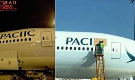 Airline spells its own name wrong, sends plane back to paint shop