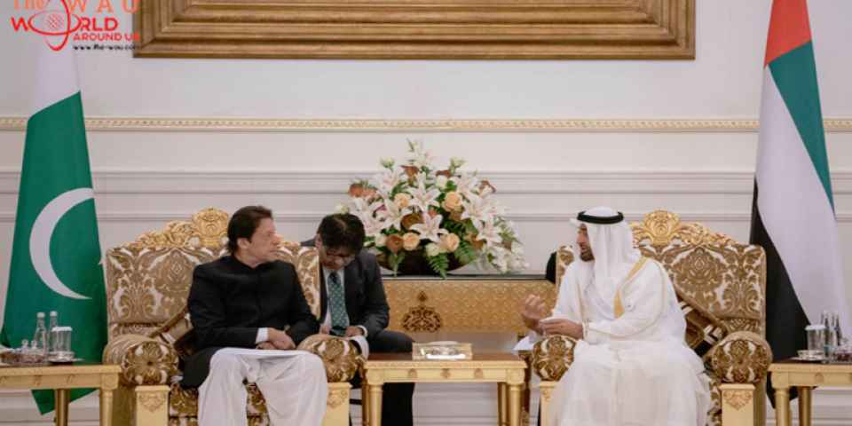 His Highness sheikh Mohamed bin Zayed, Pakistan PM Imran Khan discuss bilateral  ties, global issues