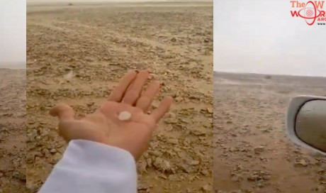 Thundery rain with hail reported in Qatar - VIDEO