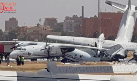 Two Planes Collide, airport shuts down