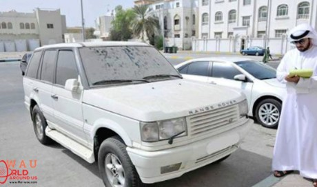 AED 500 fine if You Don't Clean Your Car