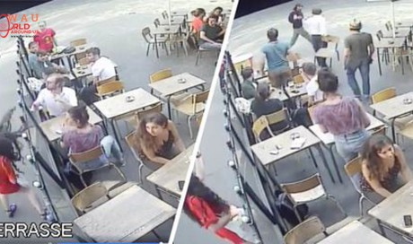 Man jailed for slapping a woman in the street in video that went viral