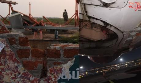 Dubai-bound Air India flight hits wall during takeoff