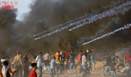 Seven Palestinians killed in border protests: Gaza health officials