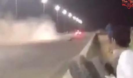 Video: Emirati racer dies in racetrack collision in UAE