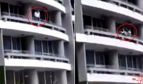 Woman falls from 27th floor while taking selfie