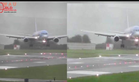 Watch How A Pilot Landed An Airplane Sideways In The Middle Of A Storm