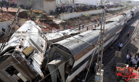 At least seven people killed in train derailment in Morocco
