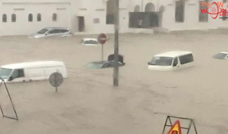 Floods in Qatar as almost a year's rain falls in one day