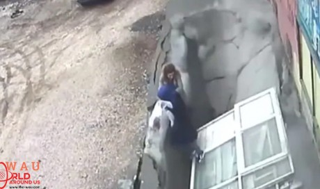 Footage Shows Sinkhole Opening And Swallowing Two Women In Turkey