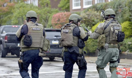 At least 10 killed in Pittsburgh synagogue shooting, sources say