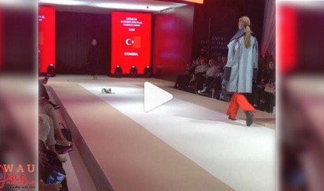 Watch: Couture-loving cat hits the catwalk in Turkey