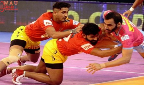 PKL 2018 Day : Gujarat Fortunegiants beat Jaipur 36-25