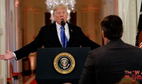 Video: White House suspends CNN's journalist after confrontation with Trump