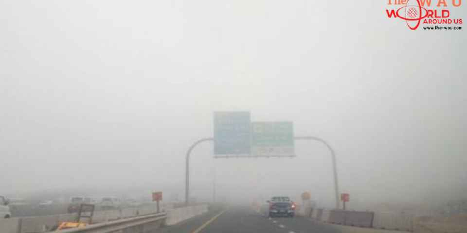 Dh500 fine, 4 black points for this traffic violation during fog