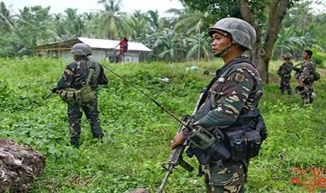 Five Filipino troops killed in ambush by gunmen