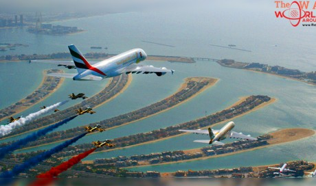 Video: UAE Carriers fly in solidarity with the 47th National Day celebrations