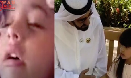 HH Sheikh Mohammed meets girl who cried over not receiving National Day call : Video